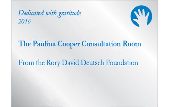 paulina cooper plaque