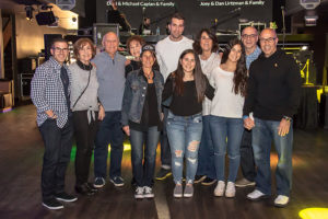 The Deutsch family at the Rockin' for Rory event