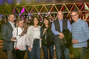 Mickey & Deni Caplan, Ellyn Samsky, Geri & Mark Mann and Alan Samsky at the Rockin' for Rory event
