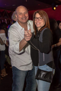 Marc and Susie Miller at the Rockin' for Rory event