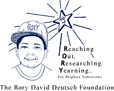 The Rory David Deutsch Foundation Logo
